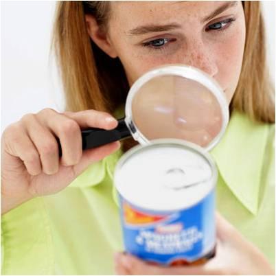 Cómo encontrar el fraude alimentario